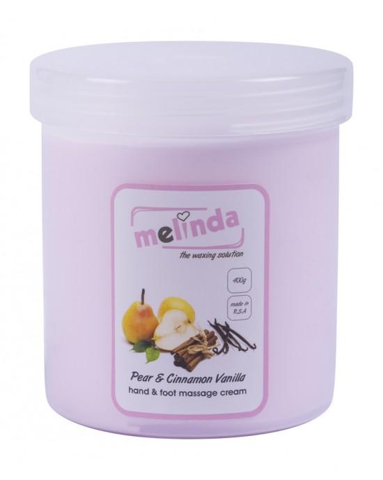Pear, Vanilla & Cinnamon Massage Cream 400g