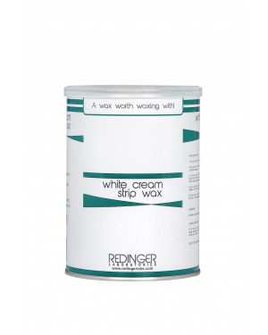 White Cream Strip Wax 800g
